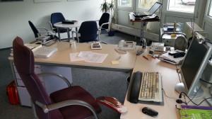 Schreibtisch # 69 Deck
