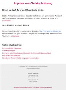 2013_12_03 Neues Newsletter-Design